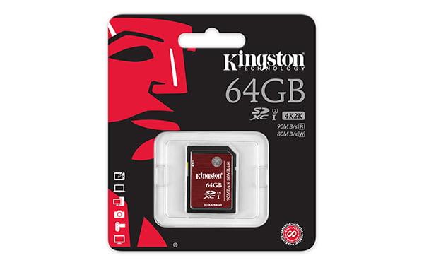 Kingston SDXC 64GB 3