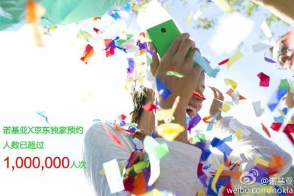 Nokia X 1 Milyon Ön Sipariş