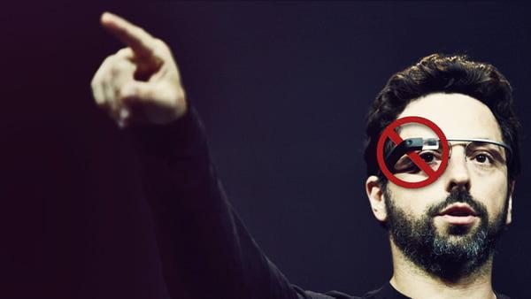 Google Glass'a Yasak Geldi!