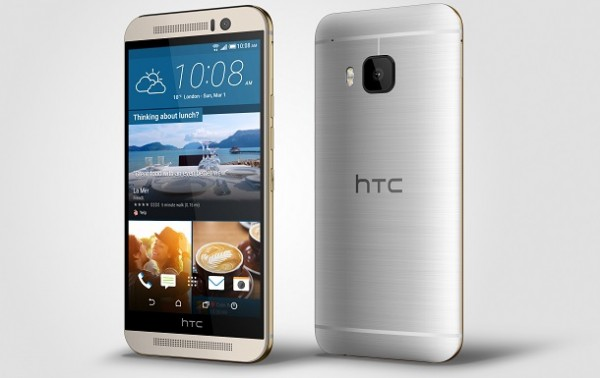 HTC+One+M9_Silver_Left