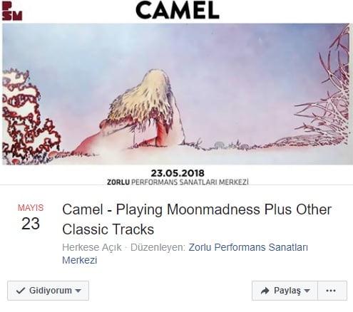 Camel biletleri arayan arayana