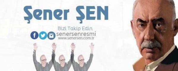 Şener Şen Facebook'a katıldı! Resmi Şener Şen Instagram ve Twitter hesapları da açıldı