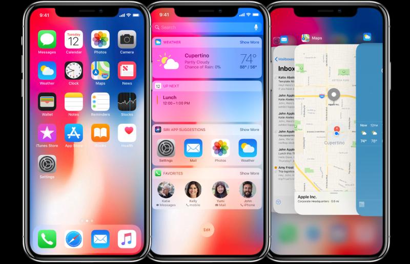 Apple, fiziksel Home tuşunu kaldırdığı yeni iPhone X telefon modeli için çalışmalarına tam gaz devam ediyor. İşte yeni videolar.