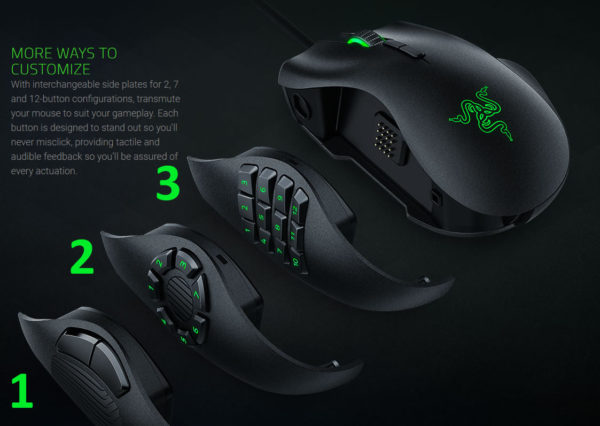 Razer Naga Trinity gaming mouse inceleme