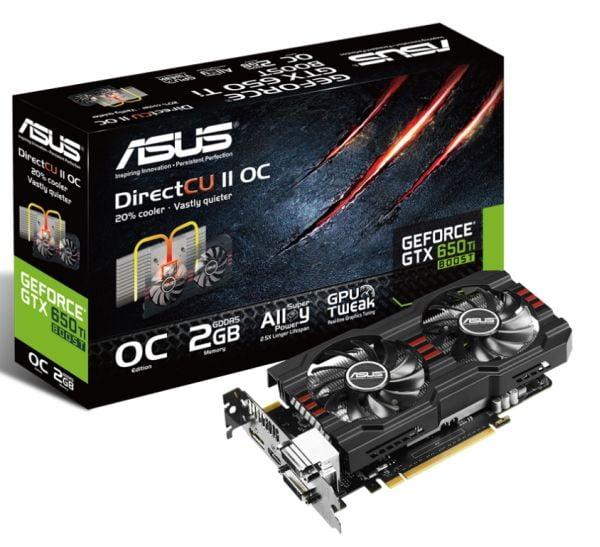 ASUS GeForce GTX 650 Ti BOOST