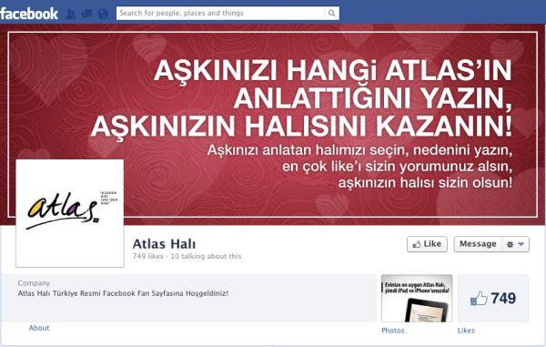 ATLAS FACEBOOK yarışma