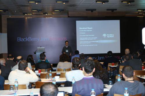 BlackBerry Uygulama Gelistirme Uzmani (Evangelist) Luca Filigheddu