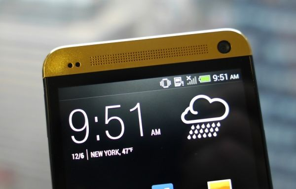 HTC One gold1 (7)