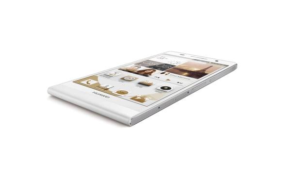 Huawei Ascend P6_Beyaz_45°