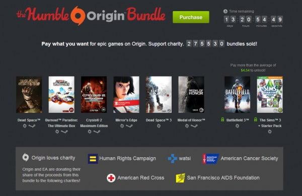 Humble Origin Bundle oyunları