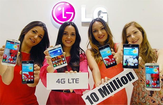 LG 10 Milyon 4G LTE