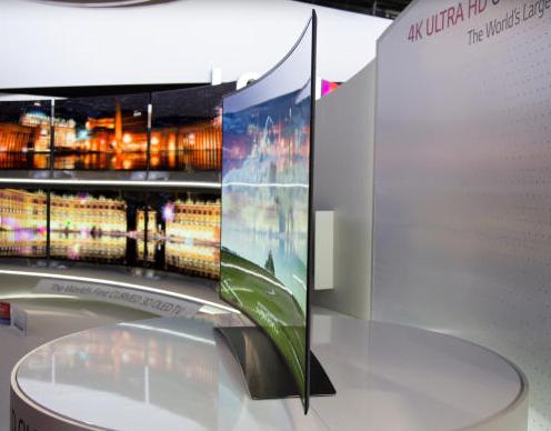 LG 4K Kavisli OLED TV