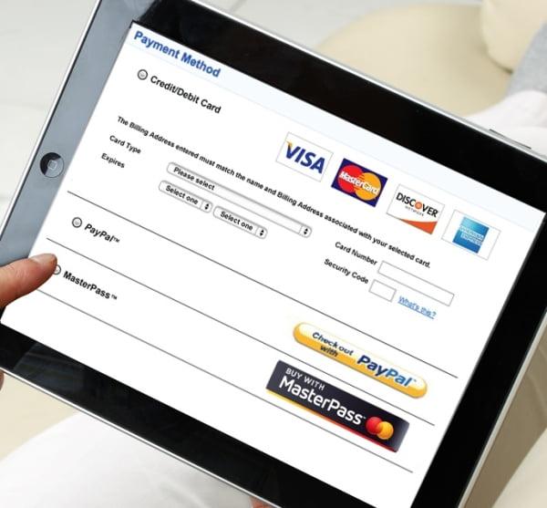 MasterPass on Tablet