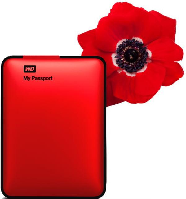 My Passport Red_Çiçek