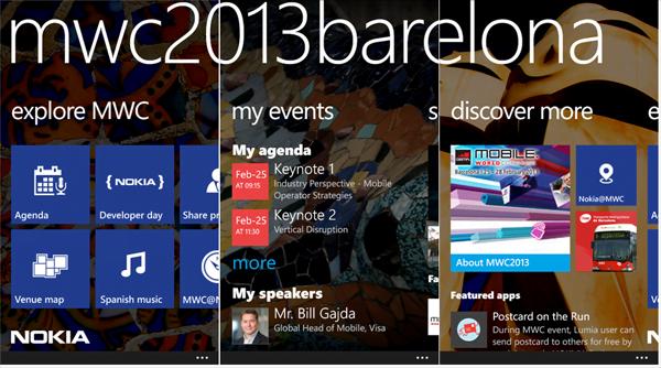 Nokia-dünya mobil kongresi uygulaması