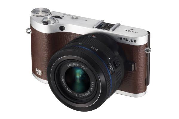 Samsung - NX300 kahverengi 2