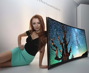 OLED TV tanıtım Fuarından