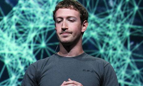 Mark Zuckerberg Facebook flotation