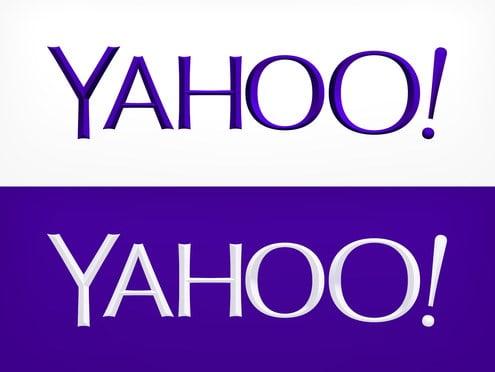 Yahoo'da logo değişikliği